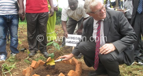 Norway committed to making Malawi green