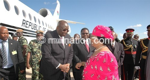 Despite government denials, President Banda used the jet on several occasions after it was sold