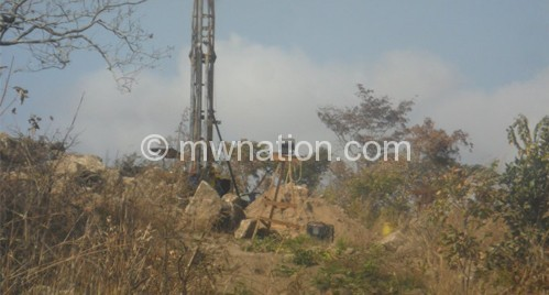 Exploration works at Kanyika mine in Mzimba in progress