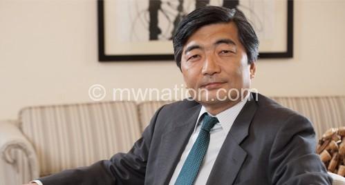 Issued the statement:  Naoyuki Shinohara