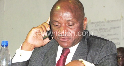 Mkandawire: The party sat down to deliberate
