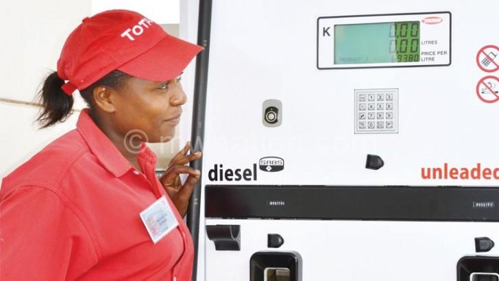 Diesel, petrol prices down 5%
