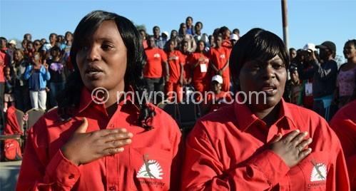 Tipped to be in charge: Chawinga-Kalua (L) and Waya