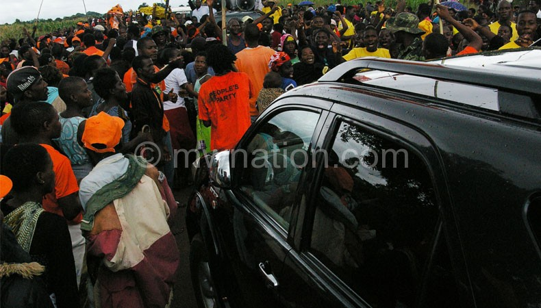 PP and UDF supporters face each other at Jokala