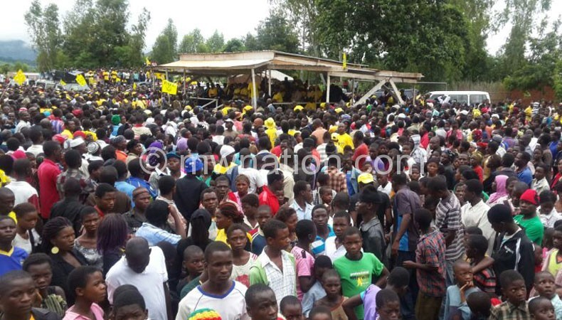 UDF in zomba   The Nation Online