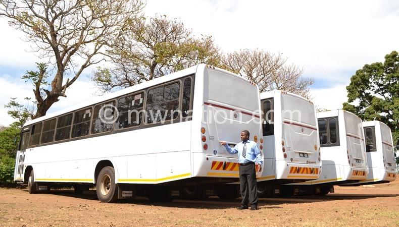 Flashback: Some of the 'disowned' buses linked to Cashgate