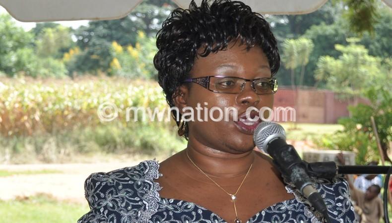 Minister of Health Catherine Gotani- Hara