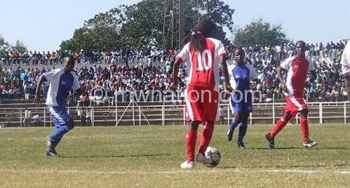 Kasenda, Chiyembekeza tie in Golden Boot race