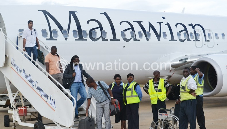 malawian boeing passingers | The Nation Online