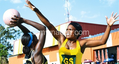 Part of the action in OG Issa Netball League first round