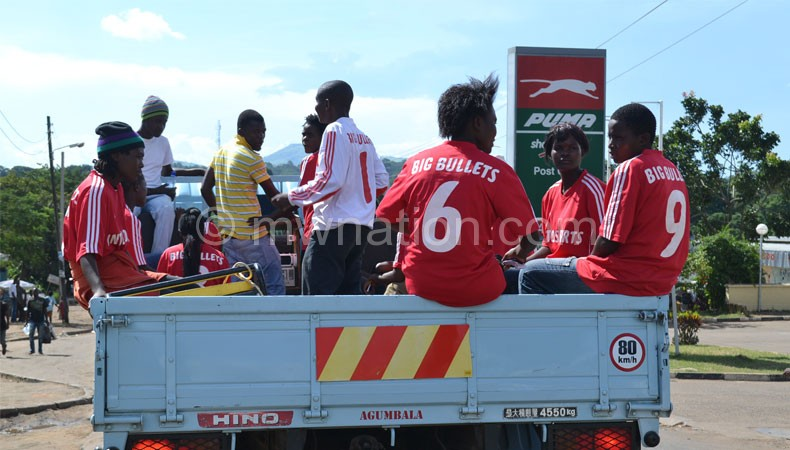 Bullets fans captured during the fundraising campaign on Thursday