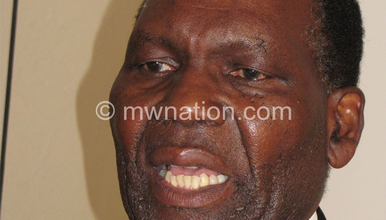 Chaponda: I asked for release of the fund