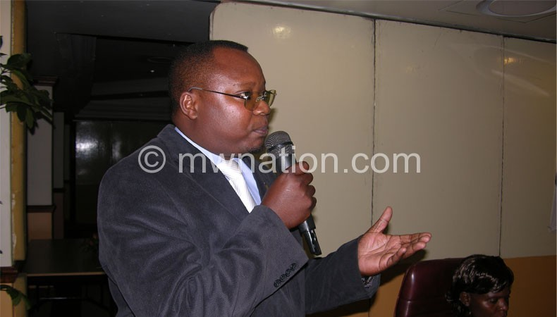 Chibowa: Only members will vote