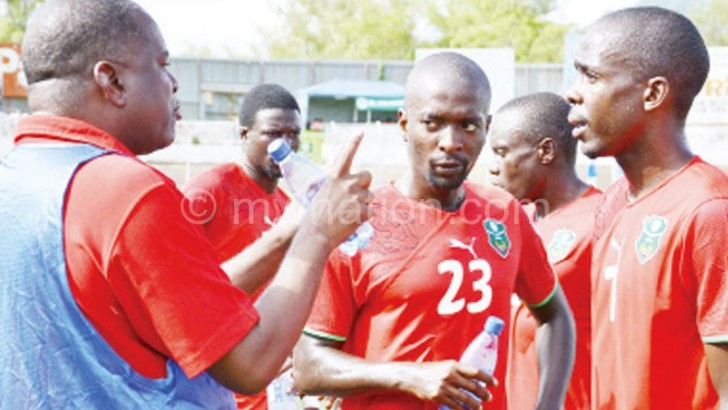 Seek donor aid on Flames' coach—Mvula