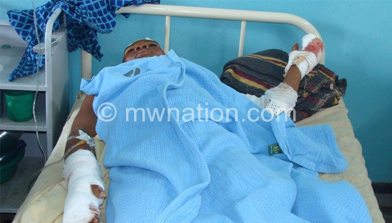 Domestic violence is rampant in Malawi