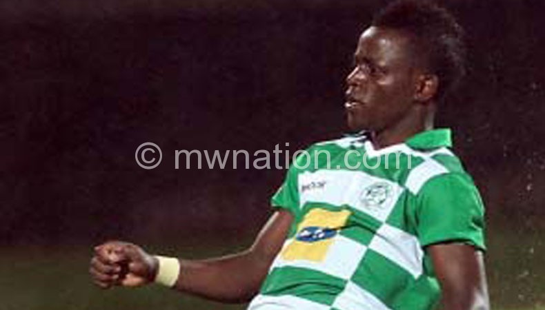 Gabadinho in celebratory moods after scoring for Bloemfontein Celtic
