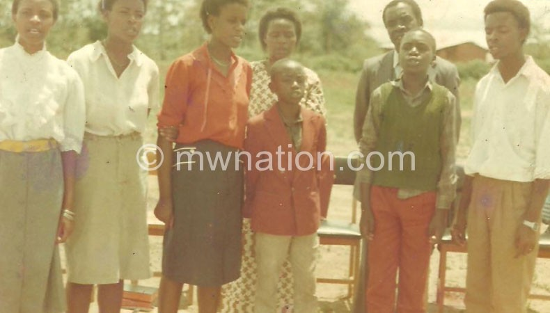 The Mhango Salvation Singers at the peak of their career in the early 90s