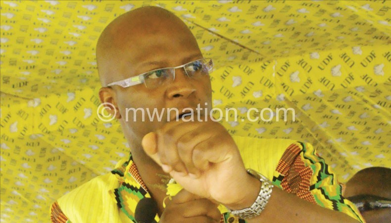 His party does not recognise making Malawi self-sustaining: Atupele