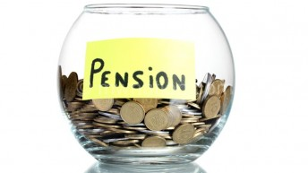 Pension fund investments drop
