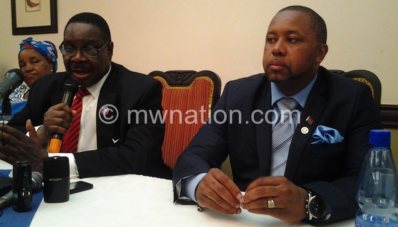 Mutharika and Chilima capture after presenting nomination papers