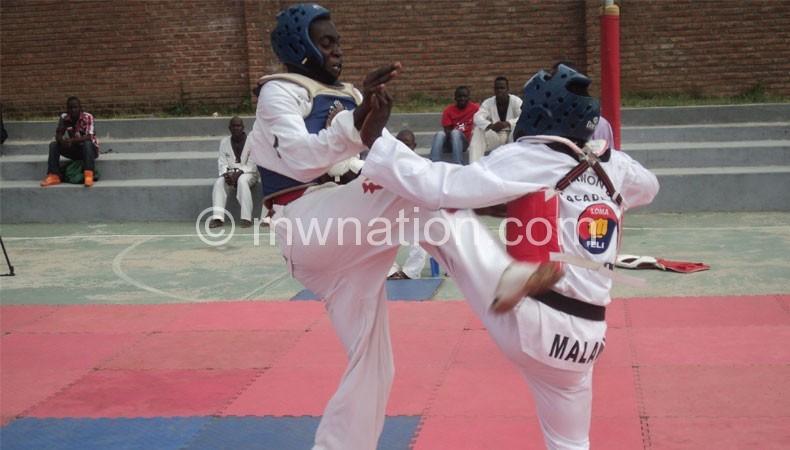 Expect this Taekwondo action tomorrow