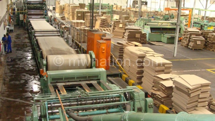 Malawi industry output to shrink by 1.7 percent