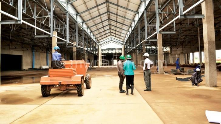 Multi-million kwacha mall in Lilongwe ready Sept