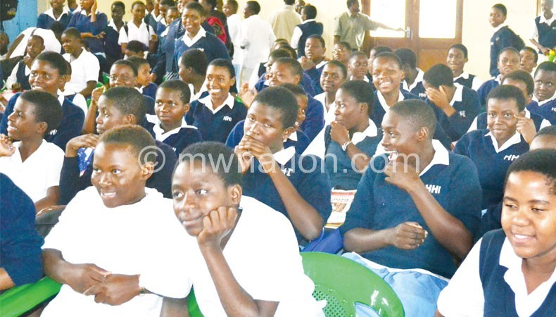 Needy primary school leavers would like to be in secondary  schools as thse students
