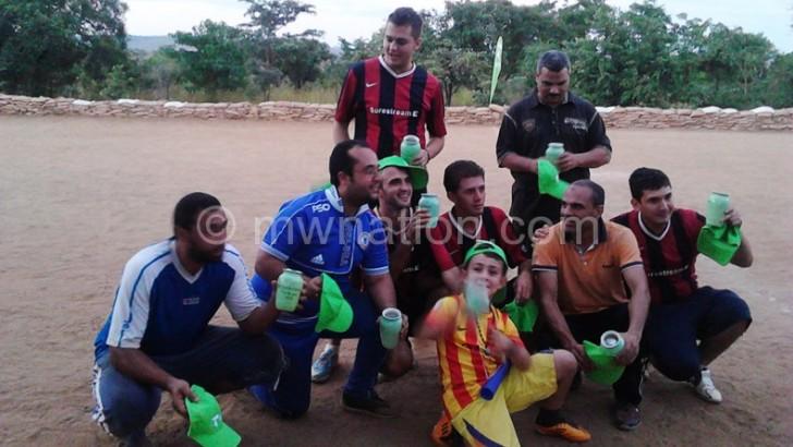 AU win TNM diplomats football bonanza