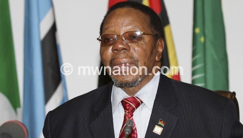 Late president Bingu wa Mutharika