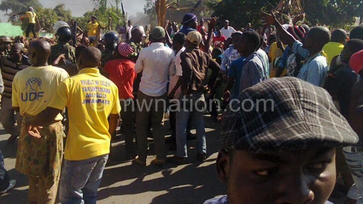 One dies in Mangochi demostration