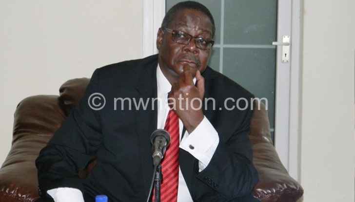 Will his leadership earn him a shortlist for the Mo Ibrahim award?:Mutharika: