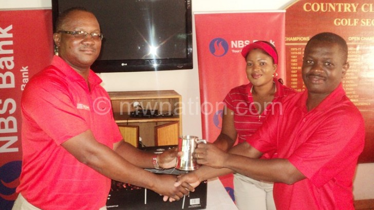 Tandwe ends NBS Bank golf title drought