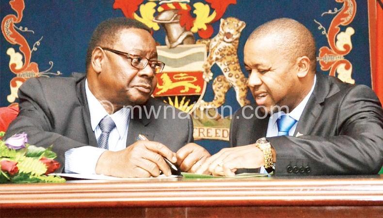 Chilima and Mutharika