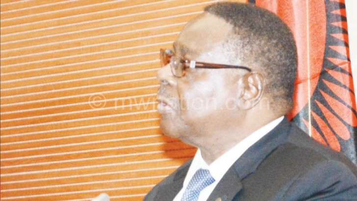 Mutharika silent on sports