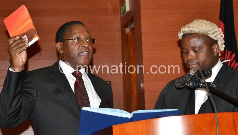 Chakwera: Malawians anxious