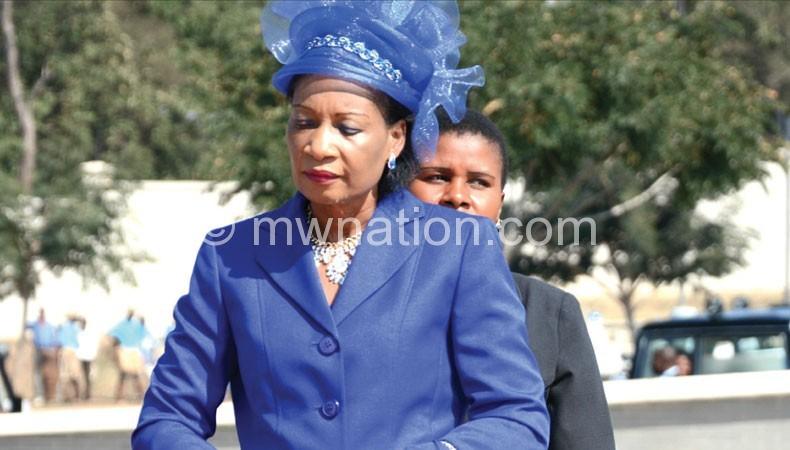 First Lady Mutharika