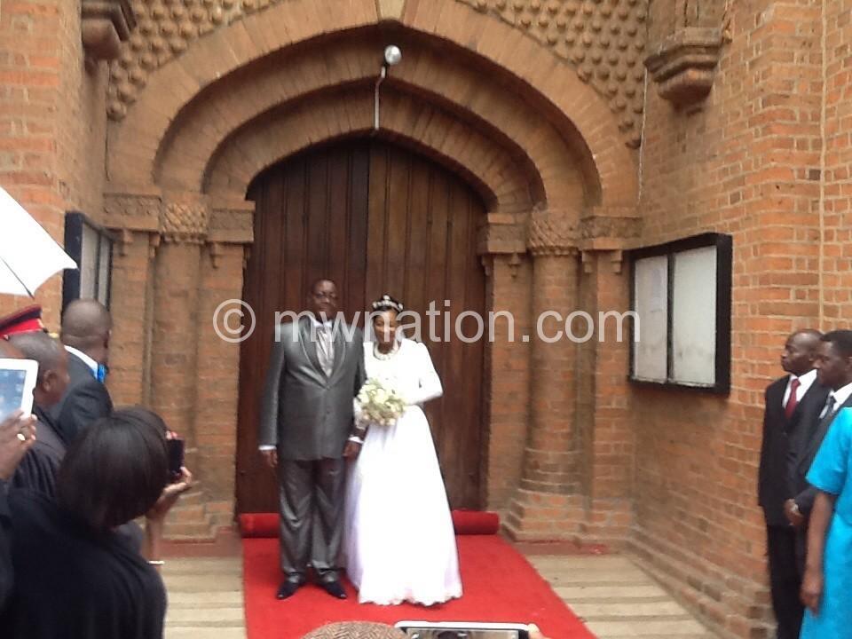 mutharika weds gertrude maseko the nation online