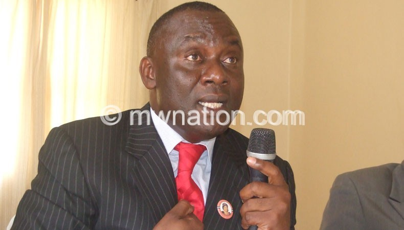 Mwenefumbo: There is a need for an investigation