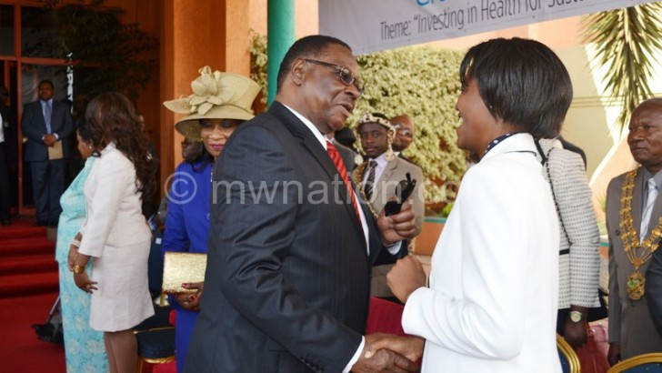 Health sector needs K5bn—Mutharika