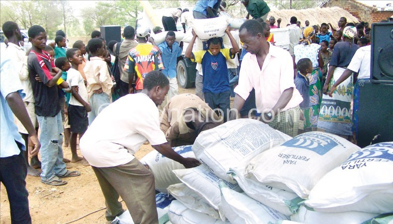 Fertiliser prices are beyond the reach of many