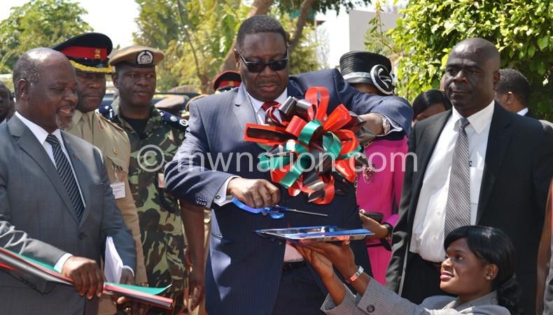 Flashback: Mutharika opening the Trade Fair