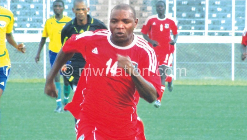 Has fight for a place: Nyirenda