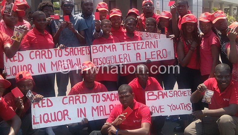 Making a statement: The youth at Parliament