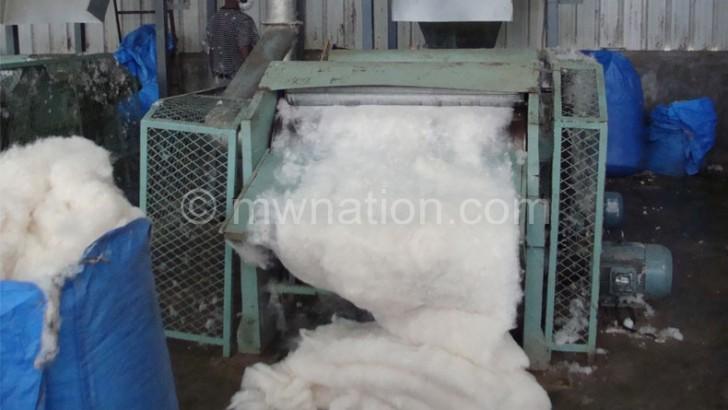 Salima textile plant to enhance value addition