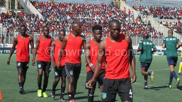 Flames step up preps in SA today