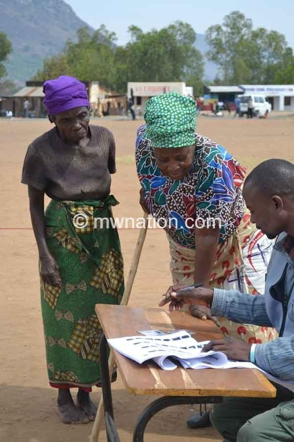 Old women voting | The Nation Online