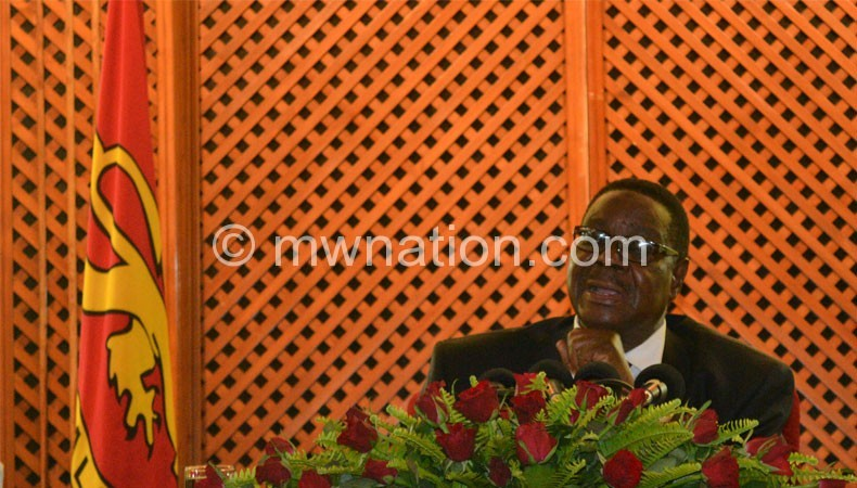 Mutharika: Wildlife crime poses a very big threat