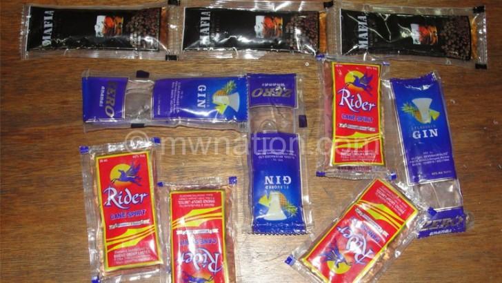 Liquor sachets still rampant in Chitipa