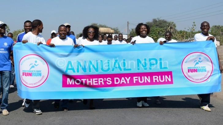 FMB supports NPL's Mother's Fun Run